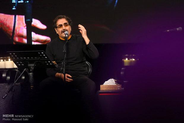 اجرای کنسرت موسیقی سنتی شهرام ناظری طی نیمه شعبان در کرمانشاه