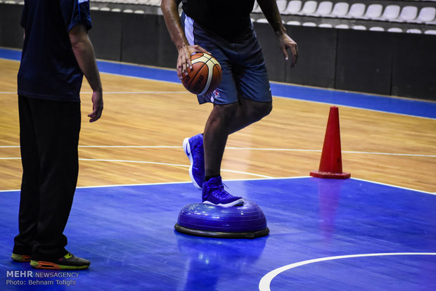 آسیب دیدگی ملی پوش بسکتبال در آستانه انتخابی جهان