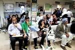 ۱۴۷۲ نفر به علت تنگی نفس به مراکز درمانی خوزستان مراجعه کردند