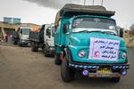 سومین محموله کمکهای مردمی اهر به مناطق زلزلهزده ارسال شد