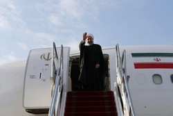 Pres. Rouhani off to Sochi
