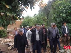 وزیر جهاد کشاورزی در نقاط زلزله زده کرمانشاه