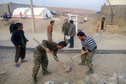 اعزام ۲۰ گروه جهادی ۱۰ نفره سپاه باقرشهر به مناطق زلزله زده