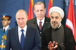 روحانی و اردوغان و پوتین