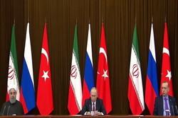 قمة سوتشي: زعماء إيران وروسيا وتركيا يؤيدون الحوار السوري الشامل