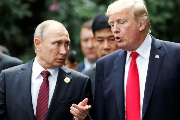 رؤسای جمهور روسیه و آمریکا
