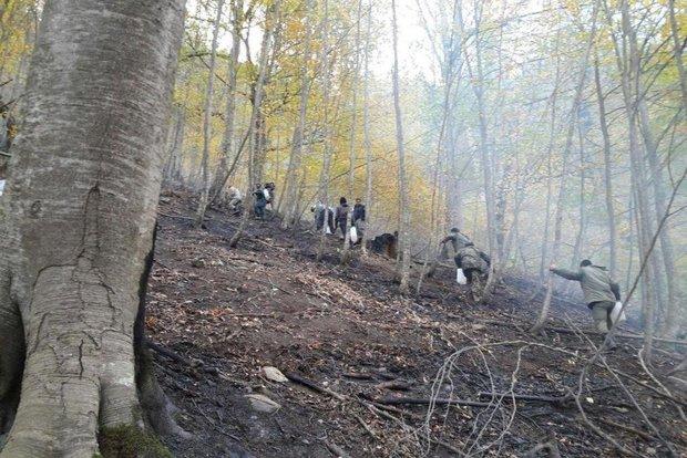 ۹ مورد حریق در عرصه مراتع و جنگلهای شاهرود رخ داد
