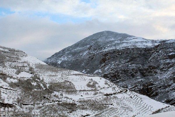 برف ارتفاعات استان اردبیل را سفیدپوش کرد/تداوم سرما و بارش باران