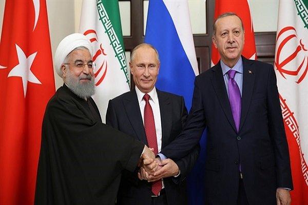 """الكرملين يعلن عن قمة تجمع """"روحاني وبوتين وأردوغان"""" غدا"""