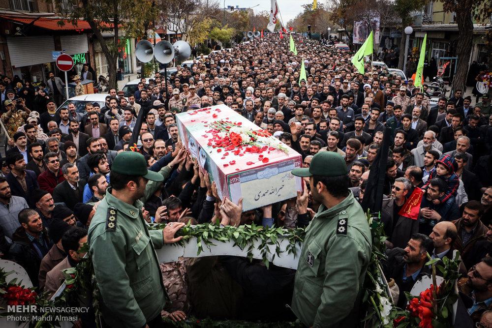برگزاری یادوازه شهدای مدافع حرم و شهدای هسته ای در ایام الله دهه فجر توسط تشکل اسلامی سیاسی امید