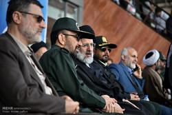 جشن پیروزی مقاومت در اجتماع بسیجیان مشهد