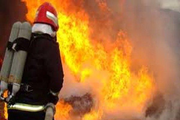 آتش سوزی خط لوله گاز باغملک مهار شد