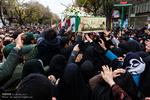 تبریز میں شہید عبد الحسین عبداللہی کی تشییع جنازہ