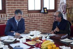 دیدار وزیر با سینماگران