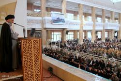 نمازجمعه گرگان به امامت آیت الله نورمفیدی نماینده ولی فقیه در استان گلستان