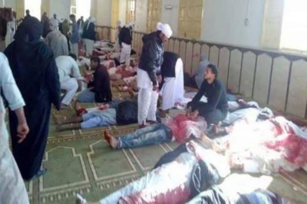 عدد قتلى مجزرة الروضة بالعريش يتجاوز 305 بينهم 27 طفلا