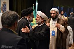 دیدار میهمانان اجلاس جهانی محبان اهل بیت(ع) با حجت الاسلام سید ابراهیم  رئیسیتولیت آستان قدس رضوی