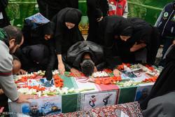 مراسم تشییع شهید مدافع حرم علیرضا نظری
