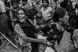 تصاویر تکان دهنده از مسلمانان آواره روهینگیا