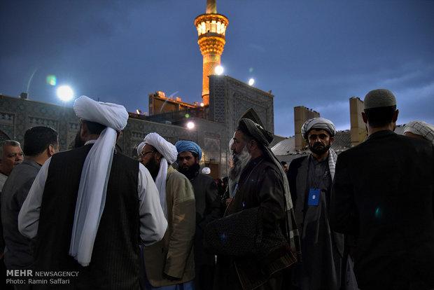 Maula Ali Shrine Wallpaper: Ahl Al-Bayt Summit Attendants Meet With
