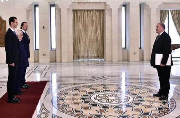 الأسد يستلم أوراق اعتماد أول سفير عربي منذ اندلاع الأزمة السورية