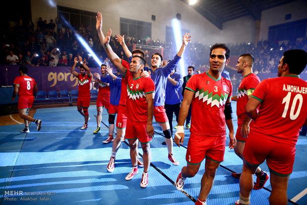 مراسم افتتاحیه مسابقات کبدی قهرمانی آسیا در گرگان