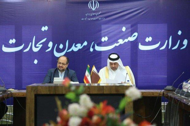 وزیر اقتصاد قطر خواستار افزایش مبادلات با ایران شد