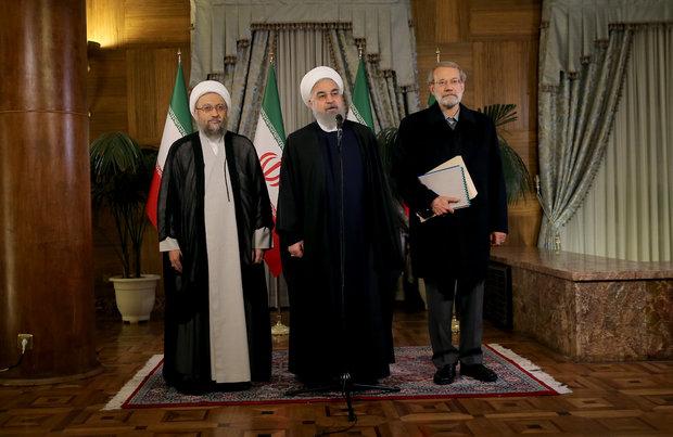 Ruhani: Yaptırımlara karşı gerekli önlemleri aldık