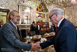 Larijani, Lewandowski meet in Tehran