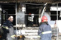 یک واحد مسکونی در دابودشت آمل در آتش سوخت