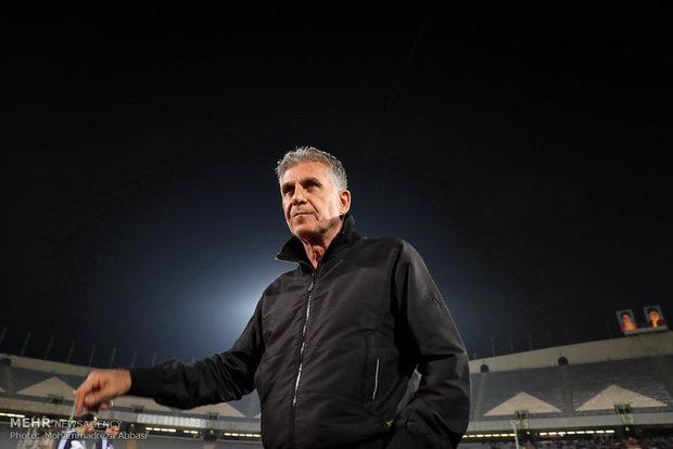 کارلوس کیروش سرمربی تیم ملی فوتبال ایران