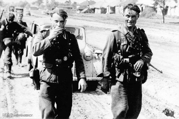 تصاویری از جنگ جهانی دوم