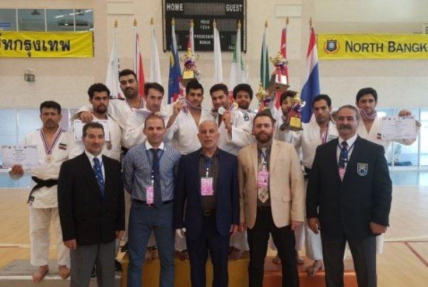 جودوکاران ایران قهرمان کاتای آسیا شدند