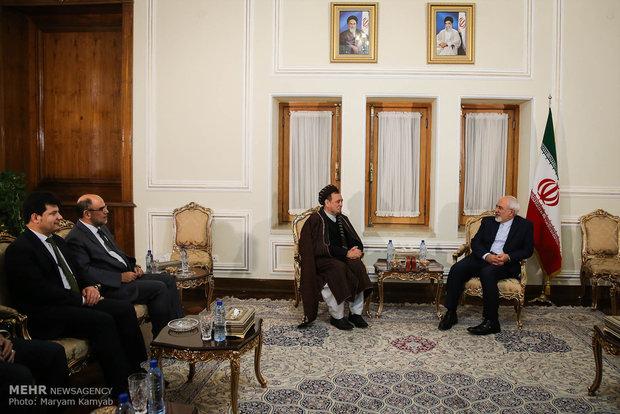 لقاءات وزير الخارجيةالايراني محمد جواد ظريف