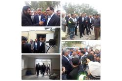 وزیر بهداشت در نقاط زلزله زده کرمانشاه