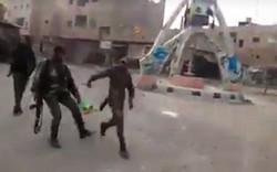 مباراة كرة قدم سورية عراقية في البوكمال