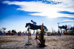 اولین دوره مسابقات کشوری سوارکاری پرش با اسب (جام ولایت) در کرج