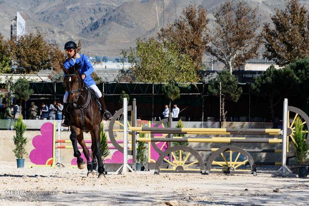 İran'da at yarışları düzenlendi