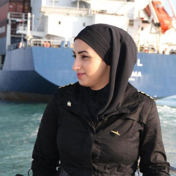 Meet the one and only Iranian female sea captain
