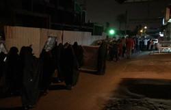 احتجاجات في البحرين رفضاً لاستمرار فرض الاقامة الجبرية على آيةالله عيسى قاسم