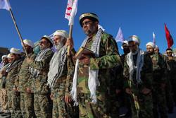 صبحگاه مشترک نیروهای مسلح استان قم در مسجد جمکران