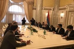 ظریف در ارمنستان