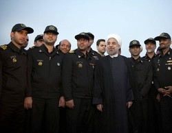 Rouhani praises National Navy Day