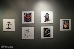 افتتاح معرض بينالي للكاريكاتير في طهران /صور