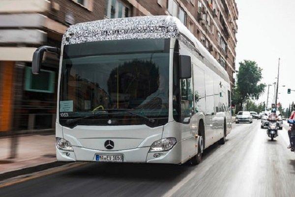آغاز تولید اتوبوس های درون شهری برقی بنز