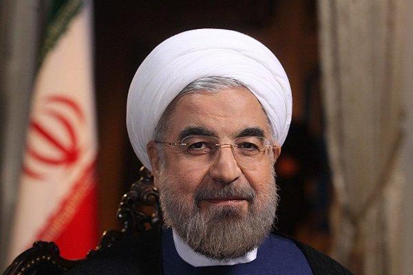 روحاني يهنئ نظيره الأذربيجاني على انتخابه رئيسا لبلاده من جديد