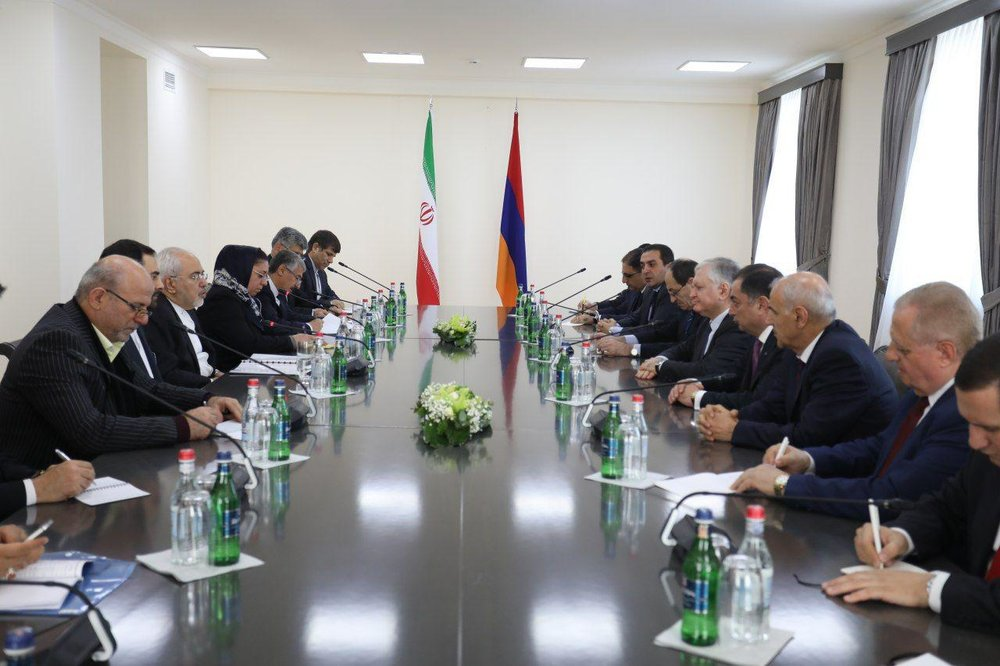 Iranian Foreign Minister in Yerevan: