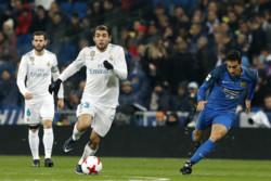 دیدار تیم های فوتبال رئال مادرید و فوئنلابرادا