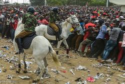 عوامی احتجاج اور کینیا کے صدر کی حلف برداری