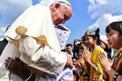 پوپ فرانسیس کا دورہ میانمار